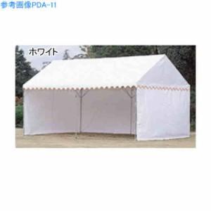 中津テント グラウンド用品 集会テント ワンタッチテント PJAテント ジャストテント2号型 三方幕タイプ  PJA-12
