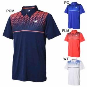 acfa653caa2c1 ニューバランス テニス ユニホーム ゲームシャツ ベーシックパーツプリントゲームポロ New Balance JMTT8015