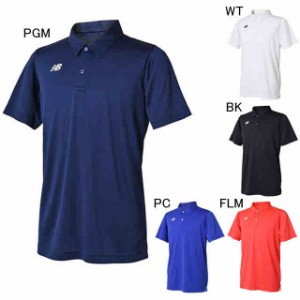 6b9c757d850da ニューバランス テニス ユニホーム ゲームシャツ ベーシックショートスリーブポロシャツ New Balance JMTT8028