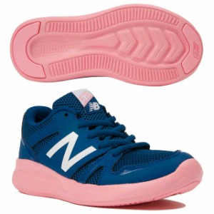 10b2d95da9245 ニューバランス キッズ 子供靴 スニーカー ジュニア YK570 ネイビー×ピンク New Balance YK570PC