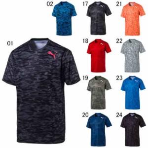 プーマ Tシャツ  メンズ ユニセックス テック グラフィック SS Tシャツ PUMA 515858