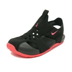 6960823a173d5 スニーカー ナイキ NIKE サンレイプロテクト2PS ブラック レーサーピンク キッズ シューズ 靴 19SU