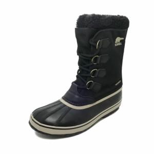 ブーツ ソレル SOREL 1964パックナイロン ブラック/アンシエント フォッシル メンズ シューズ 靴 19FW