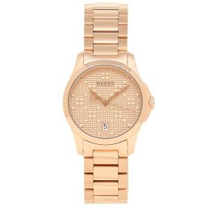 f471ff1383f8 グッチ 腕時計 レディース GUCCI YA126567 サーモンピンク ピンクゴールド
