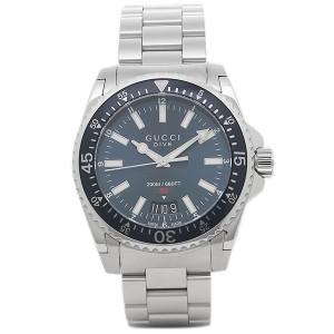 4e02f6a1c580 グッチ 腕時計 GUCCI YA136311 ブラック シルバー メンズ