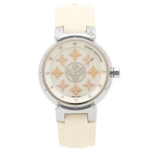 2c75efa61907 LOUIS VUITTON 腕時計 ルイヴィトン Q12MS0 ホワイト