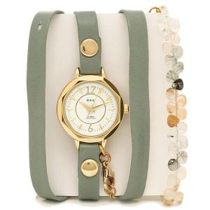 55158e09af22 ラメール コレクションズ 腕時計 レディース LA MER COLLECTIONS LAMER804 グリーン ゴールド ホワイト