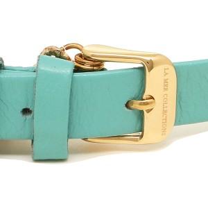 ラメール コレクションズ 腕時計 レディース LA MER COLLECTIONS LMCW9009 ライトグリーン ゴールド ホワイト