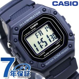 0dea649853 カシオ チープカシオ デジタル ネイビー 海外モデル メンズ レディース 腕時計 W-218H-2AVDF CASIO