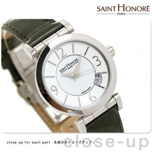 56257a77b0 サントノーレ オペラ スモール 33mm スイス製 レディース SN7520111BBN SAINT HONORE 腕時計