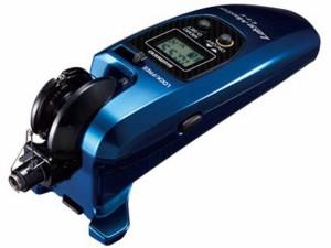 シマノ/Shimano レイクマスター CT-T カラー:クリアブルー (ワカサギ釣り専用電動リール 単四電池2本使用)