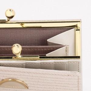 94496d60d101 ニナリッチ 財布 レディース 折財布 がま口 折りたたみ ブランド ルーン ...