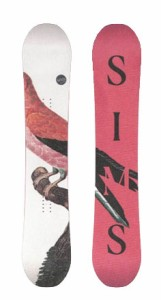 SIMS SNOWBOARDS [ SO FUN @57000] シムス スノーボード 【正規代理店商品】