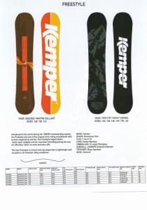 【在庫限最終特価】 KEMPER SNOWBOARDS [ FREESTYLE @63000] ケンパー スノーボード 【正規代理店商品】【送料無料】