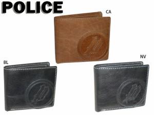 751e72b9cd41 ポリス POLICE 二つ折り財布 2つ折り財布 SLG BASIC 4 エスエルジーベーシック4 0276