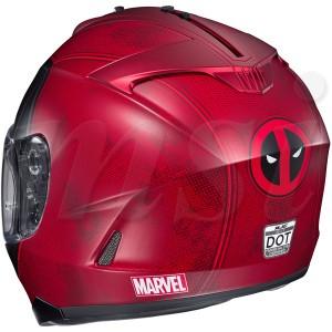 HJC IS-17 ヘルメット Marvel Deadpool マーベル デッドプール