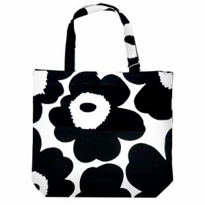 acd5352be2fa マリメッコ トートバッグ 47314 #192 ウニッコ (ホワイト×ブラック)Notko Unikko bag【
