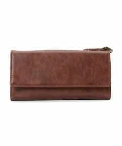 e5843a77d554 送料無料 長財布 メンズ レディース 長財布 DEVICE デバイス ブラウン 茶色 ブランド 財布 コインケース