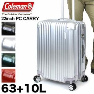【商品レビュー記入で+5%】Coleman(コールマン) スーツケース キャリーケース 旅行用かばん 63+10L 34泊 TSAロック 4輪 14-60 メンズ