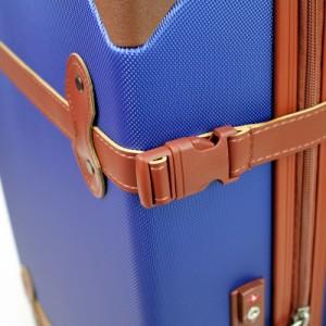 8b90d2840d4 【ポイント10倍+レビュー記入で5倍】AIRWAY(エアウェイ) スーツケース トランク型キャリー 44L 2~4泊 4輪 TSAロック AW-0696 -55 レデ