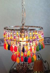 【直輸入だから安い!】ポップでカラフルなペンダントランプ  1灯