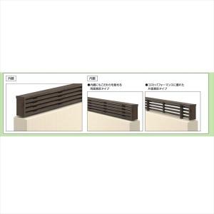 三協アルミ 形材フェンス フィオーレ3型 形材色 本体パネル W16-H06 片面意匠 形材色