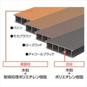 三協アルミ ひとと木2 束柱セット(形材色)・固定タイプ 標準(H=500) 5.0間×10尺 NND2-3010 『ウッドデッキ 人工木 アルミ基礎