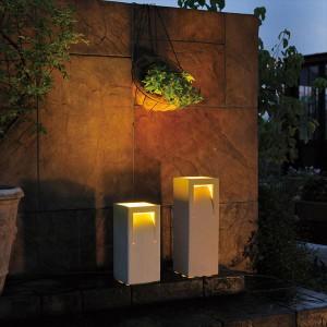 オンリーワン 新 信楽のあかり カール 大 GA1-LED08 『エクステリア照明 信楽焼ライト』