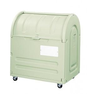 アロン化成 ステーションボックス #500C(キャスター仕様) 『ゴミ袋(45L)集積目安 11袋、世帯数目安 5世帯』 『ゴミ収集庫』 ウ