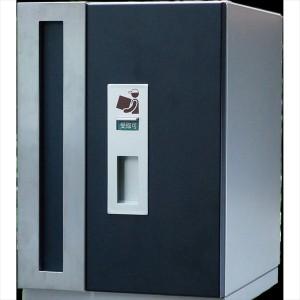 トーシン ダブルボックスポスト 一戸建て用 屋外 PO-WBOX-BK 『郵便ポスト 一戸建て用 屋外』 レザの画像