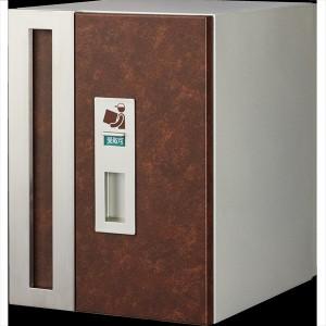 トーシン ダブルボックスポスト 一戸建て用 屋外 PO-WBOX-BR 『郵便ポスト 一戸建て用 屋外』 鯖茶の画像