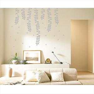 東京ステッカー 高級ウォールステッカー 植物 ハリエンジュ Mサイズ *TS0018-EM グレー  『おしゃ