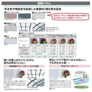 三協アルミ レボリューZ 5.0間×5尺 3000タイプ/関東間/1階用F型/出幅移動収まり/3連結  『テラ