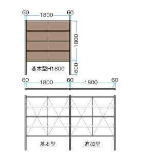 タカショー  エバーアートボードフェンス 7型セット 片面 60角柱 両柱 建仁寺すす竹(受注生産品)※押え竹