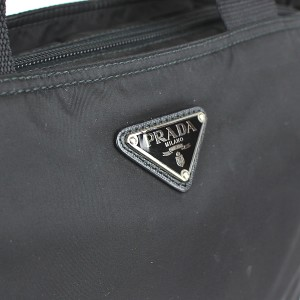 eb21c0d0cb92 プラダ PRADA 2WAY ショルダーバッグ ナイロン 黒 1BG867の通販はWowma ...
