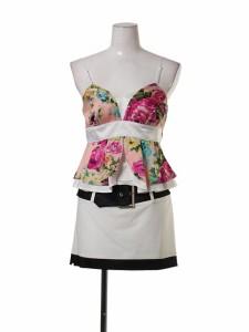 【送料無料】FlowTide フロータイド スーツ【ホワイト[白]】[15-61915PK] パーティー キャバ クラブ スナック ドレス