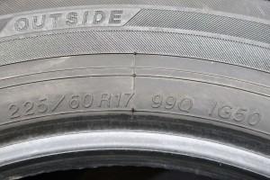【中古】【送料無料】ヨコハマ アイスガード iG50+ 225/60R17  2本セット スタッドレスタイヤ