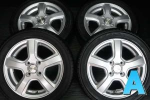 【中古】ヨコハマ エコス ES300 165/55R14   グラスHN 14インチ 100-4穴 4本 中古タイヤ・サマータイヤ