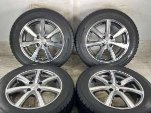 【送料無料】【中古】TOYO ガリット G5 185/65R15 DUNLOP ROZEST 15インチ 100-4穴 4本 中古タイヤ・スタッドレスタイヤ