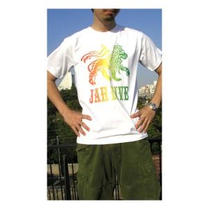 ( 送料無料 ) dial9up REGGAE ヘビーウェイトTシャツ ラスターカラー ジャーライオン デザインTシャツ