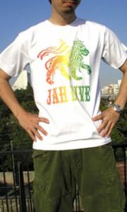 ( 送料無料 ) REGGAE ヘビーウェイトTシャツ ラスターカラーが効いたジャーライオンデザインTシャツ【di-heavy022】シャ