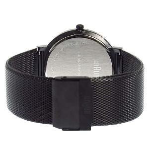 腕時計 メンズ ブラウン BRAUN クオーツ BN0032BKBKMHG ブラック
