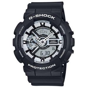 6e302d2134 腕時計 メンズ カシオ CASIO Gショック G-SHOCK クオーツ GA-110BW-1A ブラック