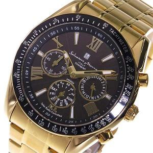 fc5c82afedced8 腕時計 メンズ サルバトーレ マーラ 電波ソーラー クロノ SM15116-GDBKGD ブラック ブラック