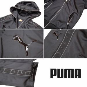【送料無料】【PUMA】プーマ ビッグロゴ トレーニングジャージ 上下セット フーデッドジャケット&パンツ