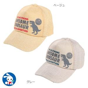 雑材風キャップ(恐竜柄)【52cm】[西松屋]