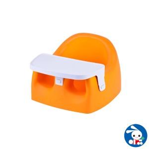 カリブソフトチェア オレンジ[ ベビーチェア ベビーイス ベビー チェア イス いす 椅子 ベビーチェアー テーブル 赤ちゃん 赤ちゃんチェ