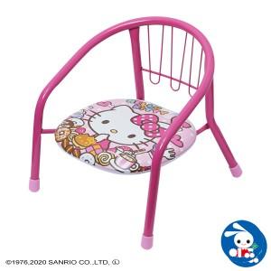 [サンリオ]ミニチェア ハローキティスイーツ[ベビー ベビーチェア 赤ちゃん チェア 椅子 いす イス ベビーチェアー 豆イス 赤ちゃん用品