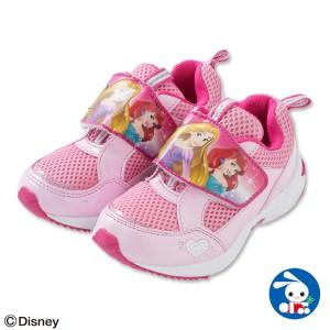 (ディズニー)シューズ(プリンセス)【15cm・16cm・17cm・18cm】【くつ】 [ 靴 シューズ スニーカー 子供 子ども キッズ キッズスニー