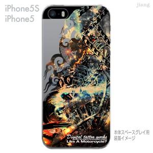 iPhoneXS Max XR 8 X 7 6/6s Plus iPhone SE 5s Clear Arts ハードケース クリアケース Digital tattoo works アート 56-ip5s-sc0010